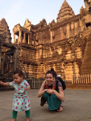 The Angkor Wat Motherhood Challenge – they ruin your life